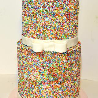 sprinkles cake - Cake by Sabsy Cake Dreams