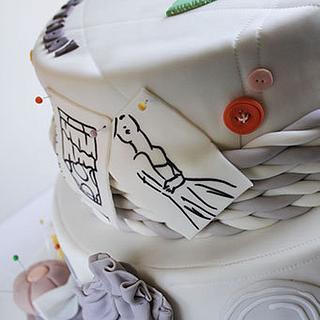 Fashion Designer Birthday Cake - Cake by Guilt Desserts