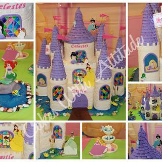 Princess Castle Cake - Cake by Viviana & Guelcys