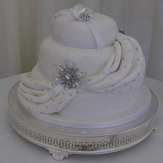 Wedding cake - Cake by Andrea