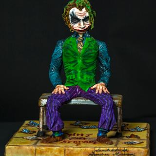 The joker  - Cake by lameladiAurora