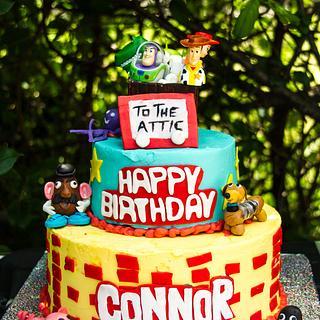 Toy Story - Cake by Sherry Webb