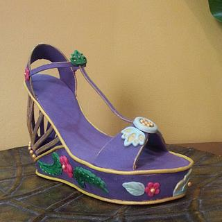 Edible Wedge Shoe