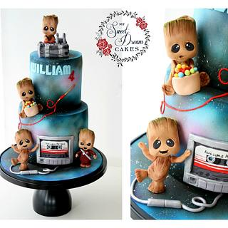 Baby Groot Cake - Cake by My Sweet Dream Cakes