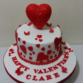 Valentine's cake - Cake by Iva Halacheva