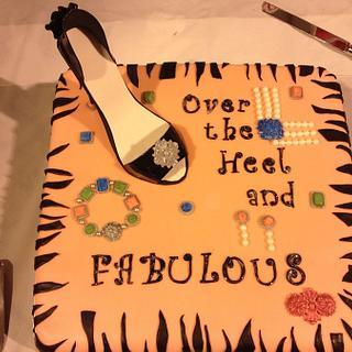 Over the Heel - Cake by Kim Hood