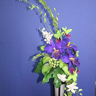 Cold Porcelain Floral Arrangement