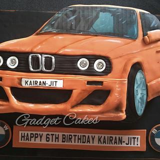 2d BMW E30 Cake