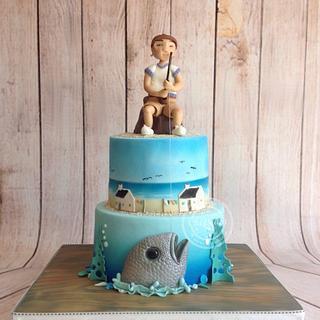Arniston bay - My dad's 70th birthday cake