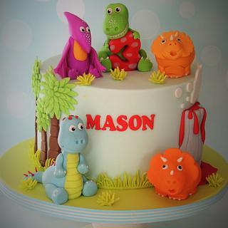 Dinosaur ROARRRRR - Cake by Shereen