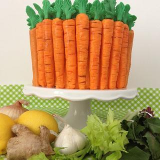 Carrot cake...go orange!!