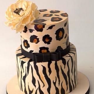 Animal Print Cake - Cake by Sihirli Pastane