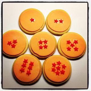 Dragonball Cookies
