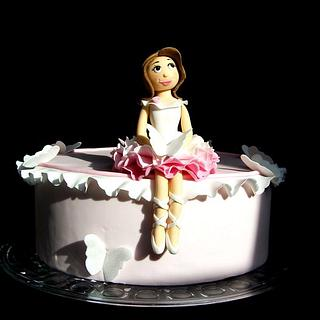 My little ballerina - Cake by Laelia