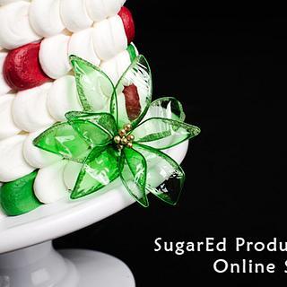 Gelatin and Christmas! - Cake by Sharon Zambito
