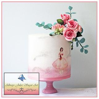 """Vintage Ballerina in Pink"""