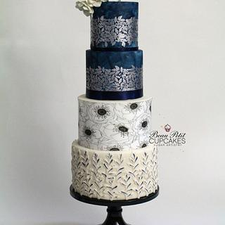 Subtle Charm - Cake by Beau Petit Cupcakes (Candace Chand)