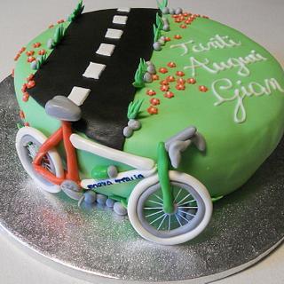Pedalando in bicicletta...