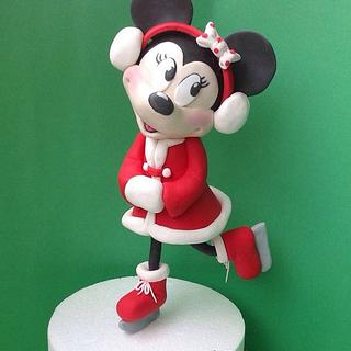 Minnie in the christmas - Cake by Titty