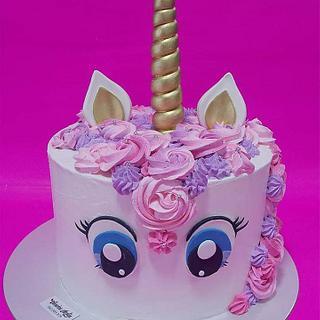 Unicorn cake & cake pops