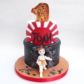 Karate cake - Cake by Diana