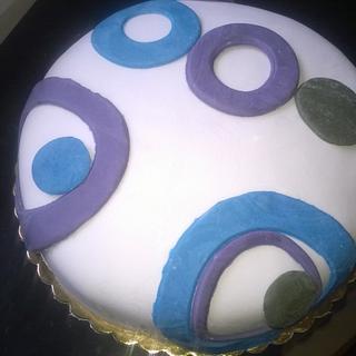 rounds birthday cake