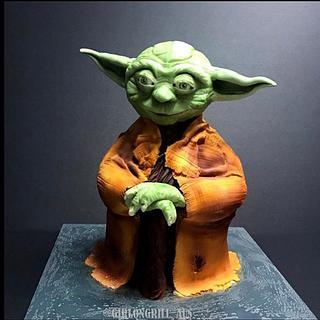 Yoda - Cake by Rachel