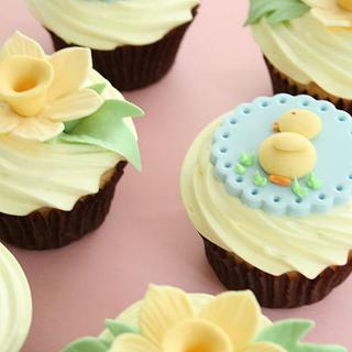Baby shower cup cakes - Cake by Tracey