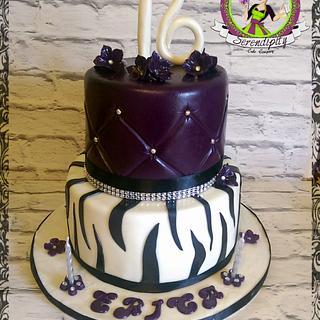 sweet 16  - Cake by Serendipity Cake Company