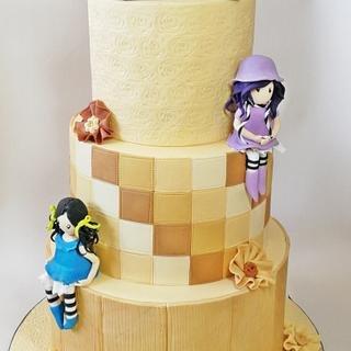 Santoro Gorjuss Birthday Cake !