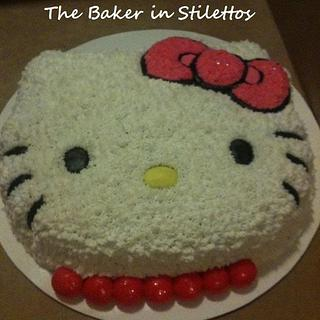Hello Kitty Cake - Cake by Jeanette Rodriguez