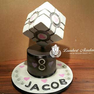 On Point  - Cake by Lesi Lambert - Lambert Academy of Sugar Craft
