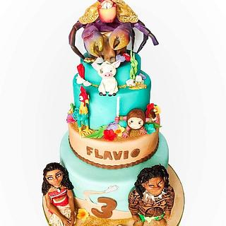Oceania Cake - Cake by Lovely Cakes di Daluiso Laura