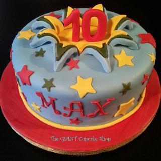 10 explosion cake