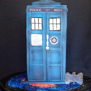 Dr.  Who themed cake - Cake by Gen