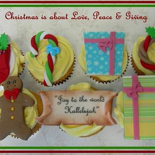 Christmas Cupcakes for Starship Hospital
