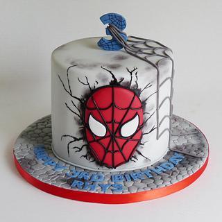 Spiderman Spider-Man - Cake by Angel Cake Design