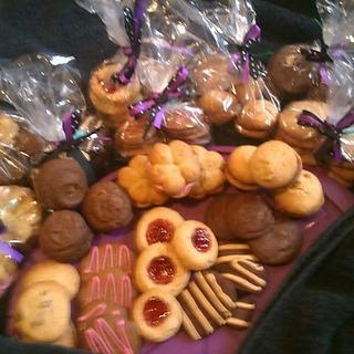Fundraising biscuits
