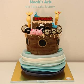 Noah's Ark Cake for baby Kyriakos