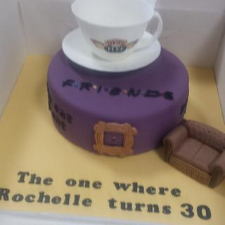 Friends  - Cake by Carole's Cakes