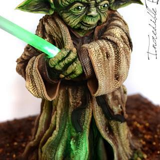 Yoda Cake for Star Wars : The Force Awakens