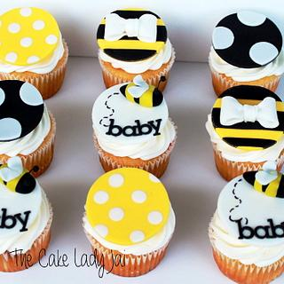 Bay-Bee Shower Cupcakes - Cake by Jai Mobley