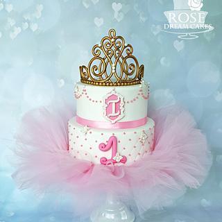 Tiara Tutu Cake