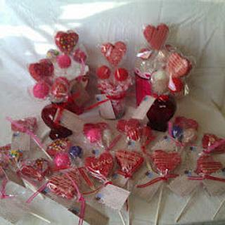 Valentines Day Cake Pops