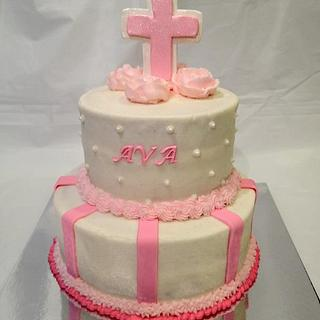 Ava Communion  - Cake by Dawn Henderson