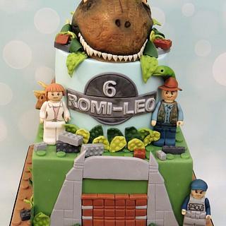 Lego Jurassic World Cake - Cake by Shereen