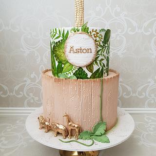 Tropical Safari 1st Birthday