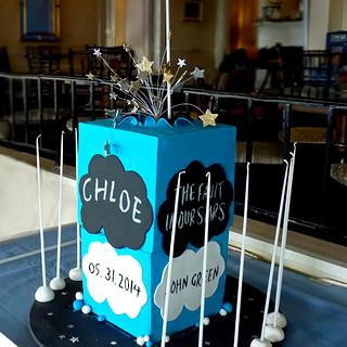 The Fault in Our Stars Cake