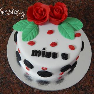Love Me Always - Cake by Prajakta Agnihotri