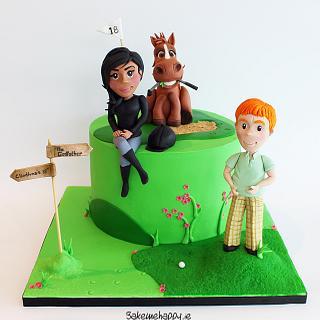 Cliodhna's birthday cake - Cake by Elaine Boyle....bakemehappy.ie